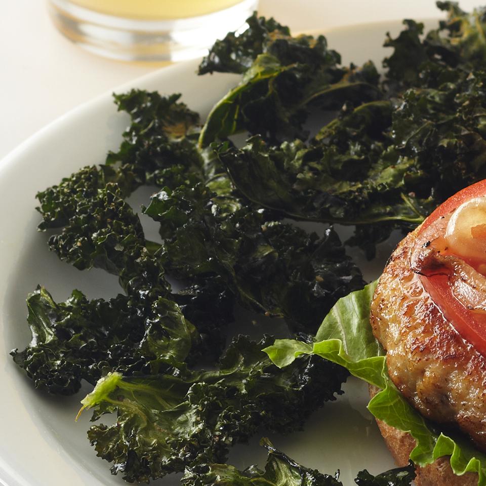 Homemade Kale Chips Diabetic Living Magazine