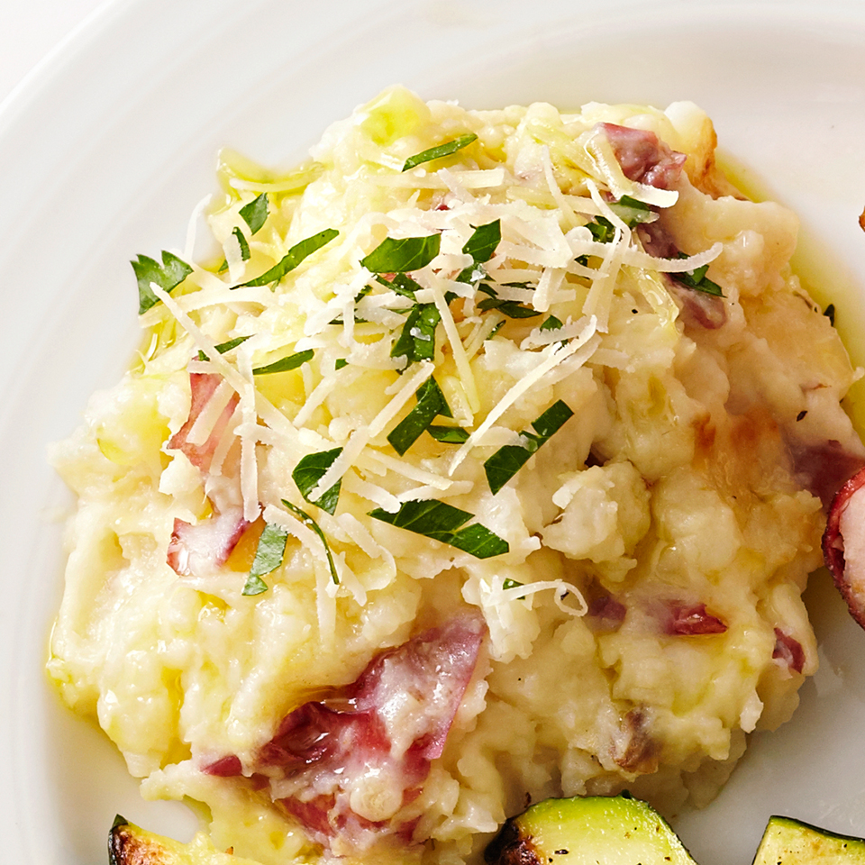 Parmesan Mashed Potatoes Diabetic Living Magazine