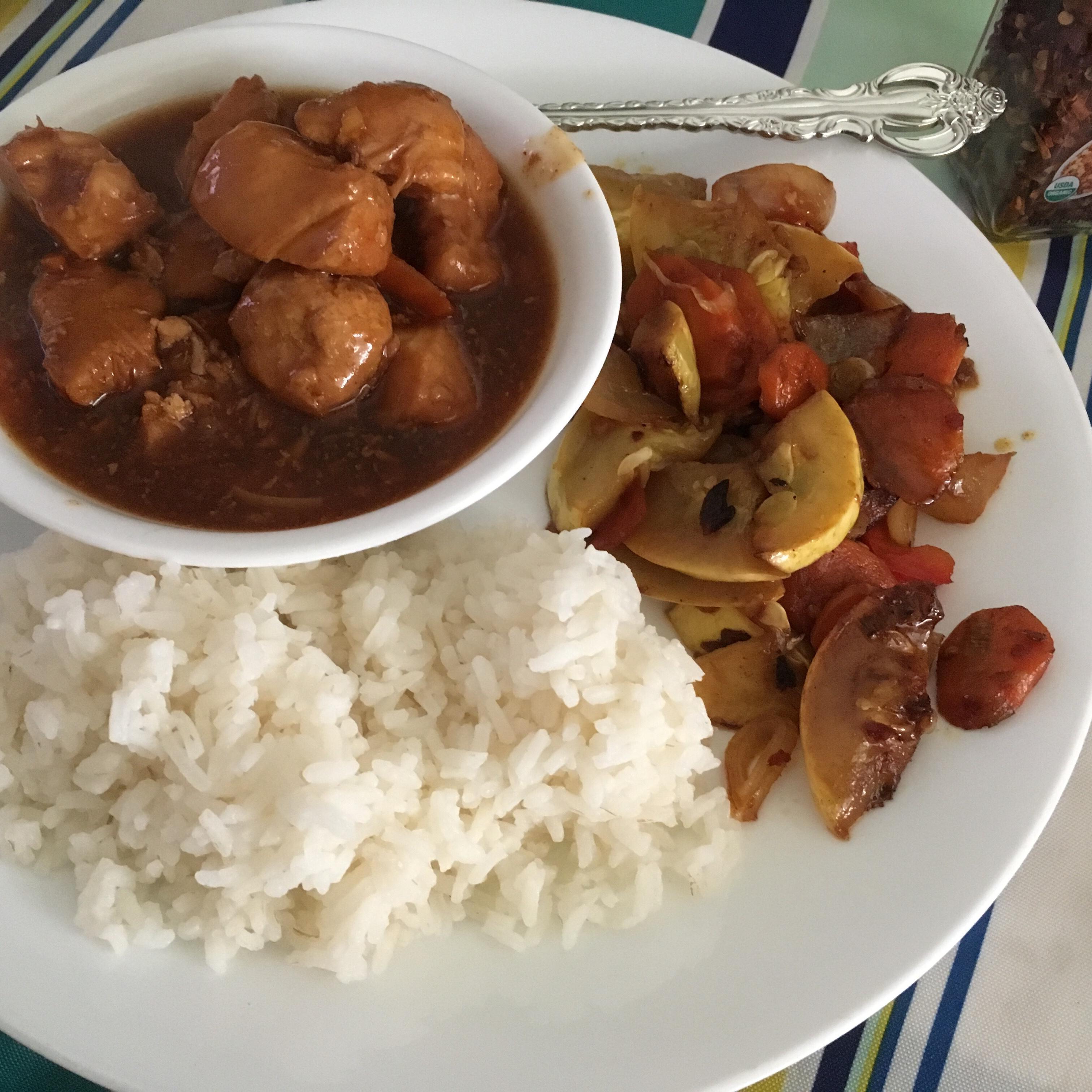Instant Pot® Mongolian Chicken