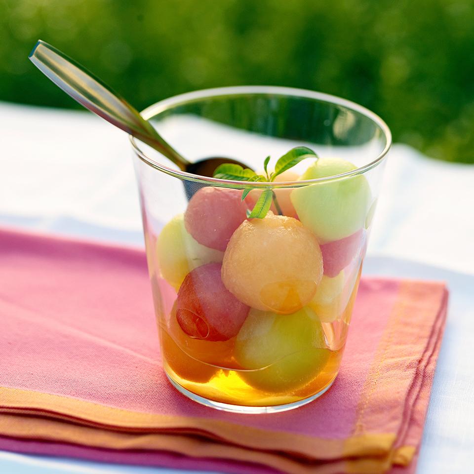Marinated Melon Diabetic Living Magazine