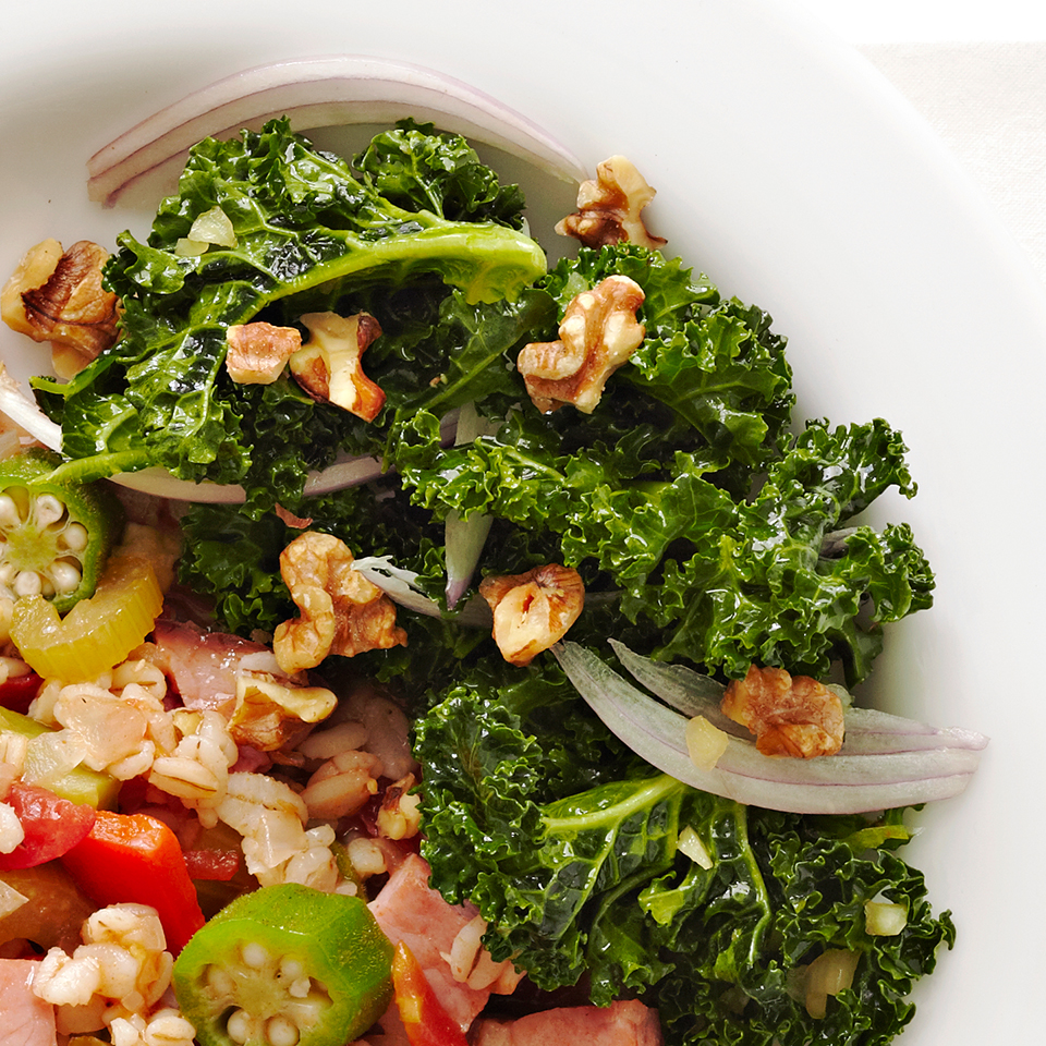 Hand-Wilted Kale Salad Diabetic Living Magazine