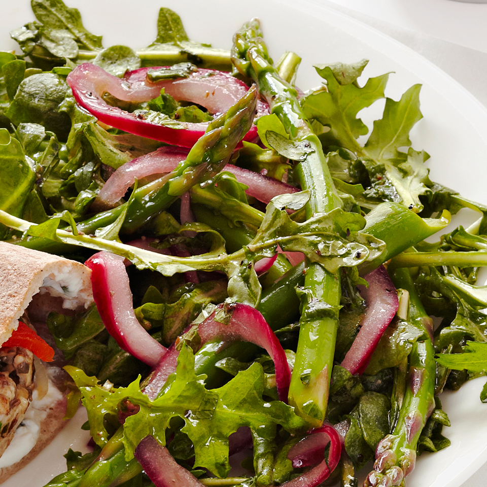 Arugula-Asparagus Salad Allrecipes Trusted Brands