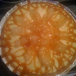 Apple Cheesecake with Caramel Sauce Katy Blaylock