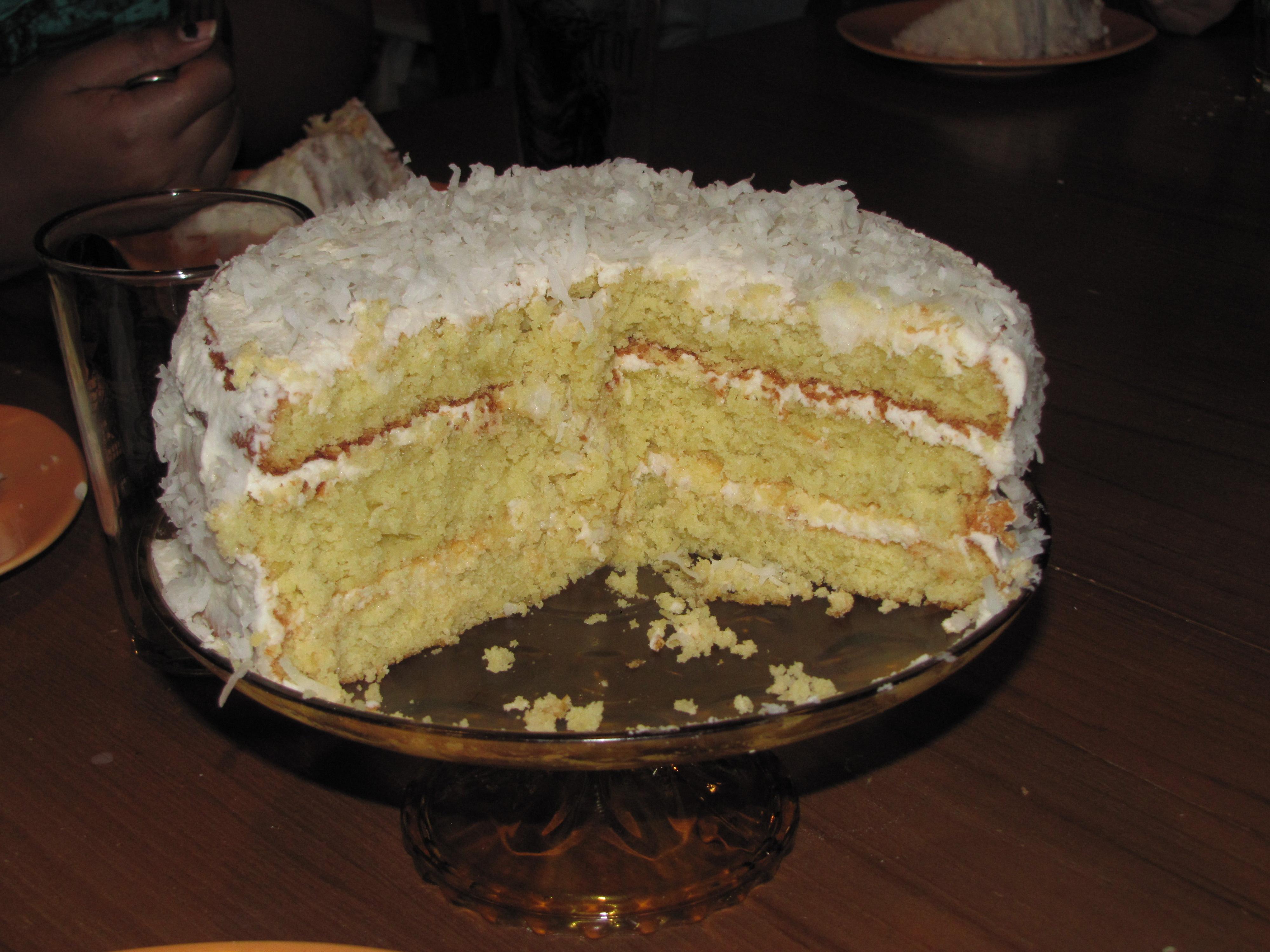 Coconut Coconut Milk Cake Christabean