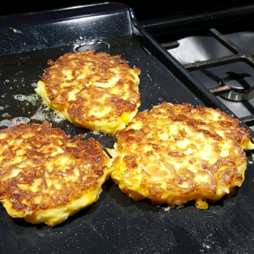 Zucchini Cheddar Pancakes Sherry Buskirk