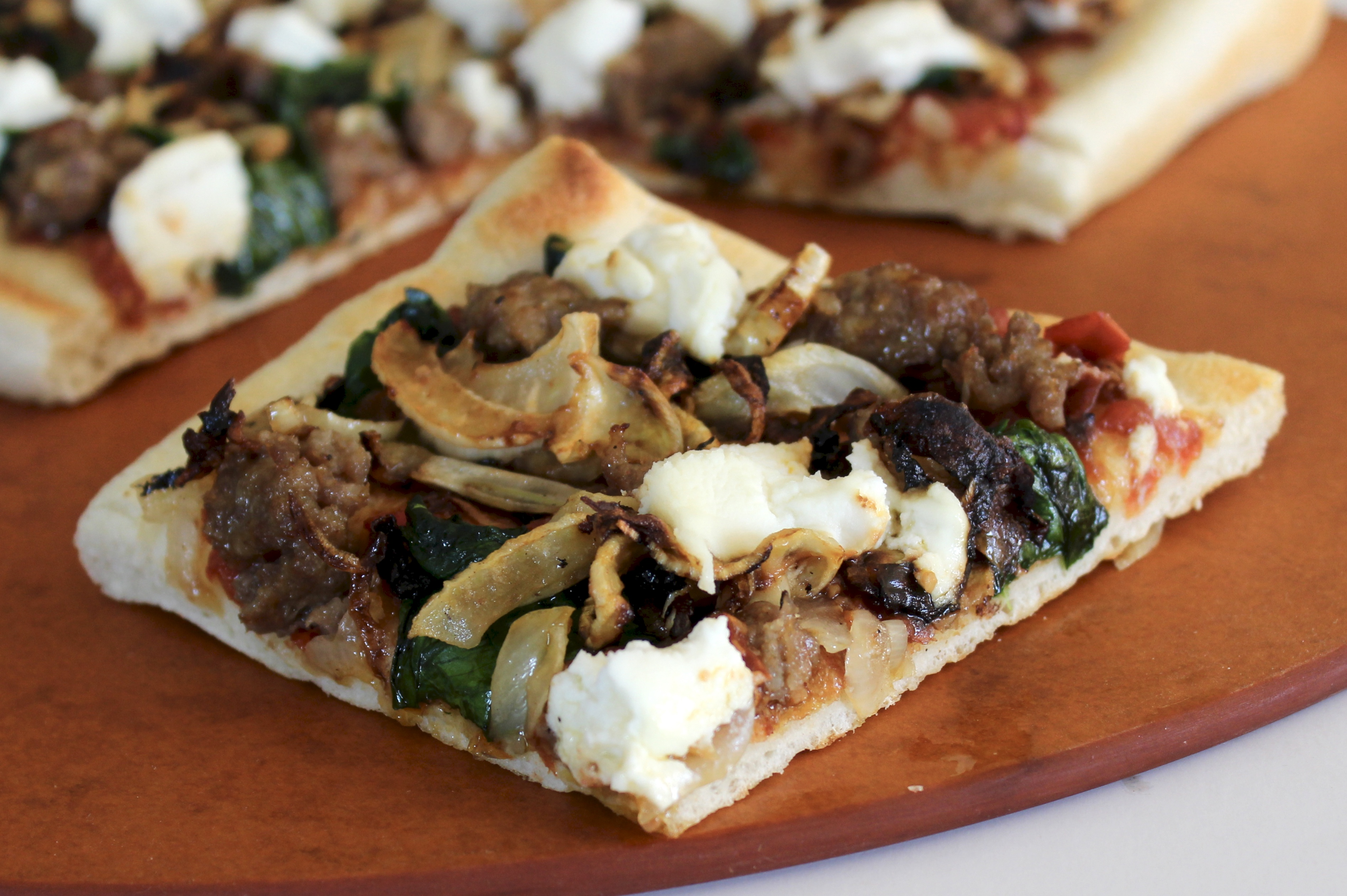 Sausage, Ricotta, and Fennel Pizza SunnyDaysNora