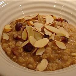 rice and raisin breakfast pudding recipe
