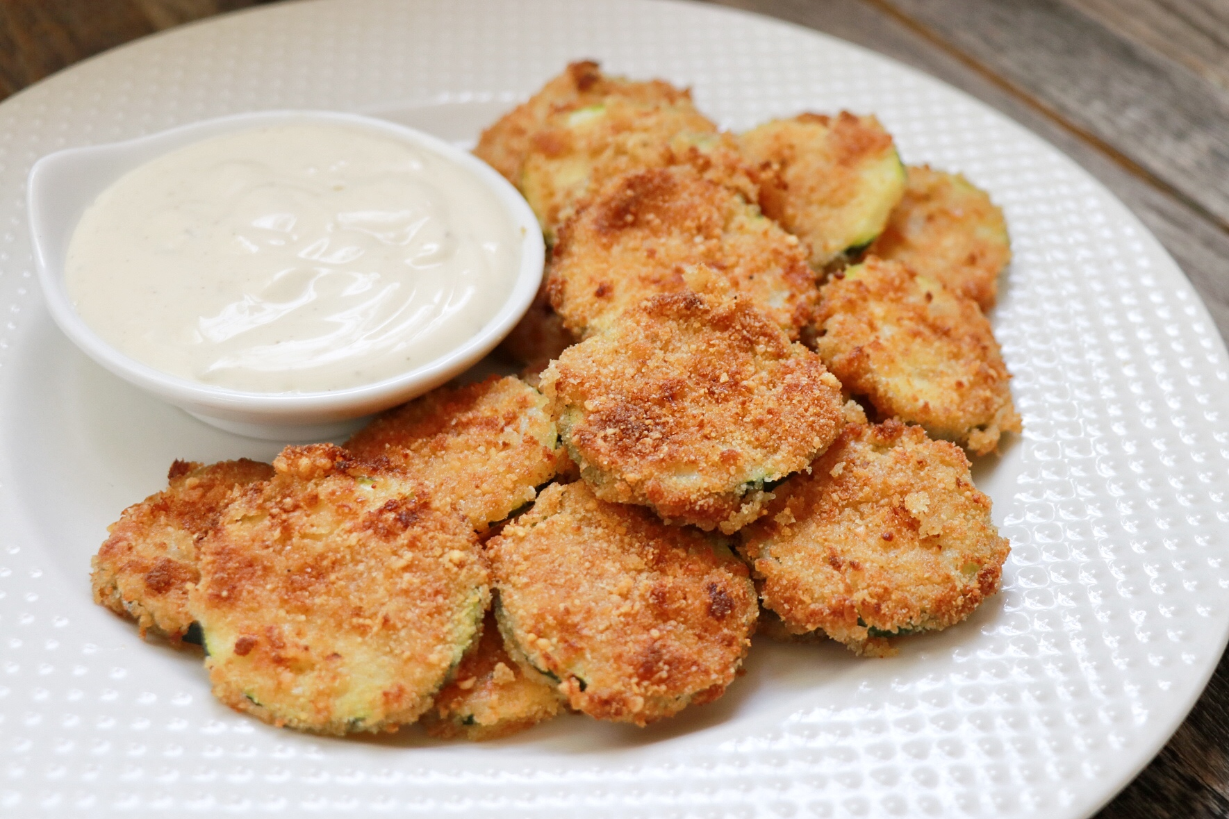 Guilt-Free Air Fryer Ranch Zucchini Chips