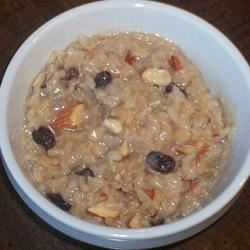 Rice and Raisin Breakfast Pudding Deb C