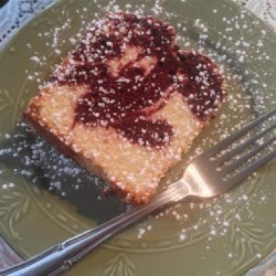 Jan's Red Velvet Swirl Pound Cake