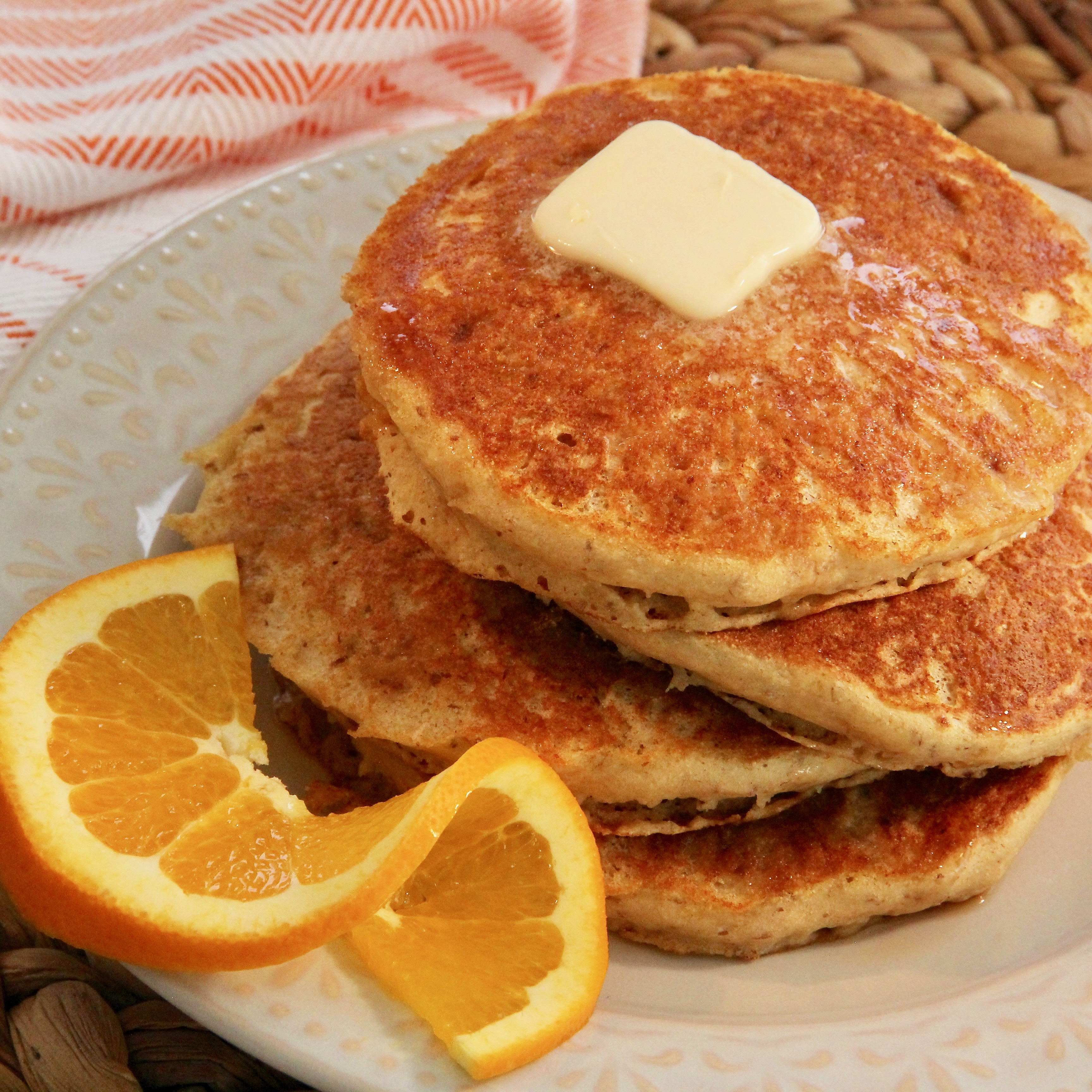 Orange Pancakes lutzflcat