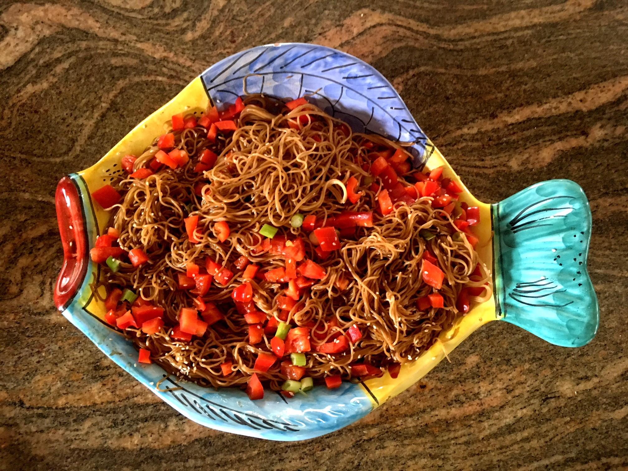 Sesame Noodle Salad elzeebaby