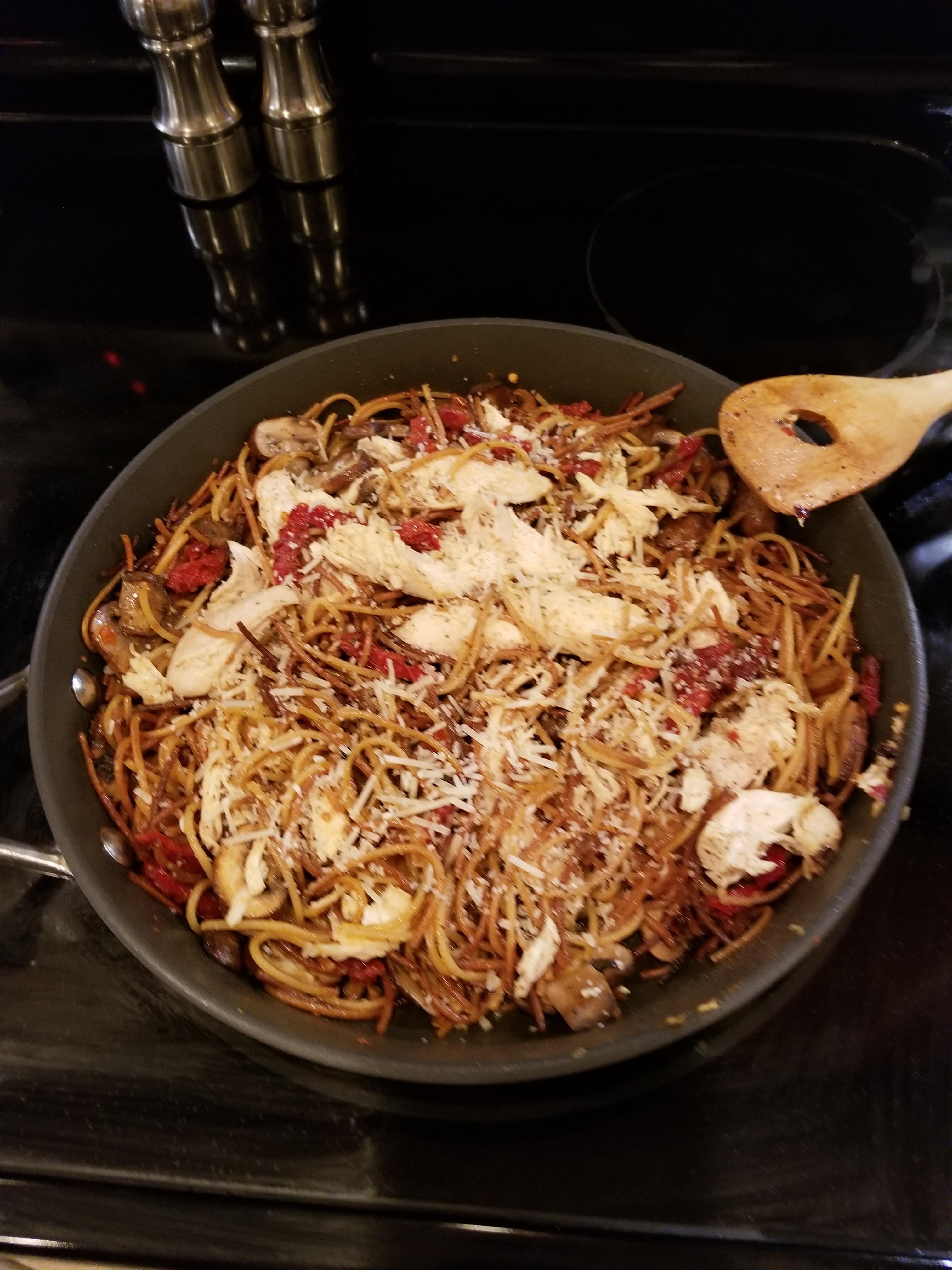 Broken Spaghetti Risotto kkingsley2