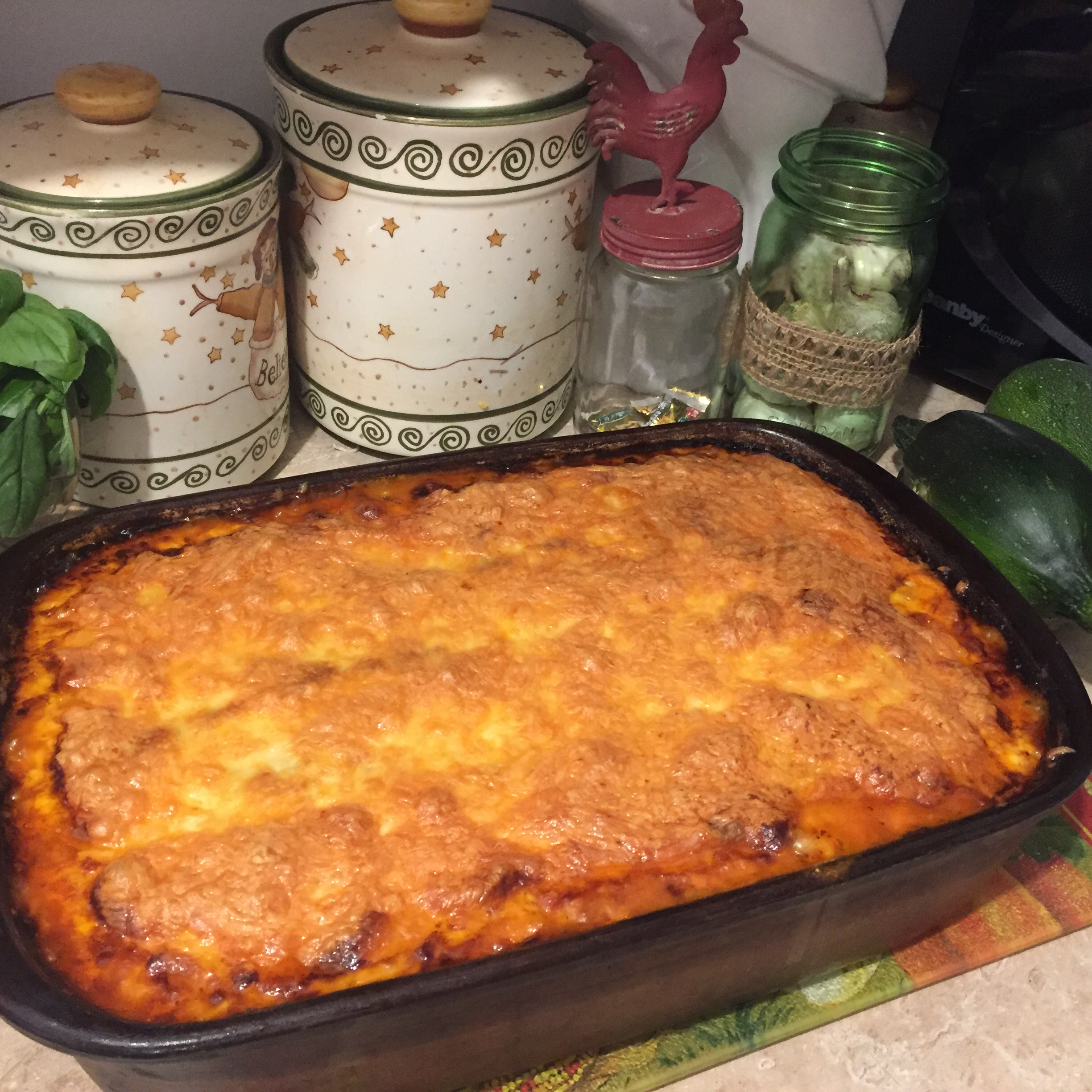 Zucchini Lasagna With Beef and Sausage LinClarke