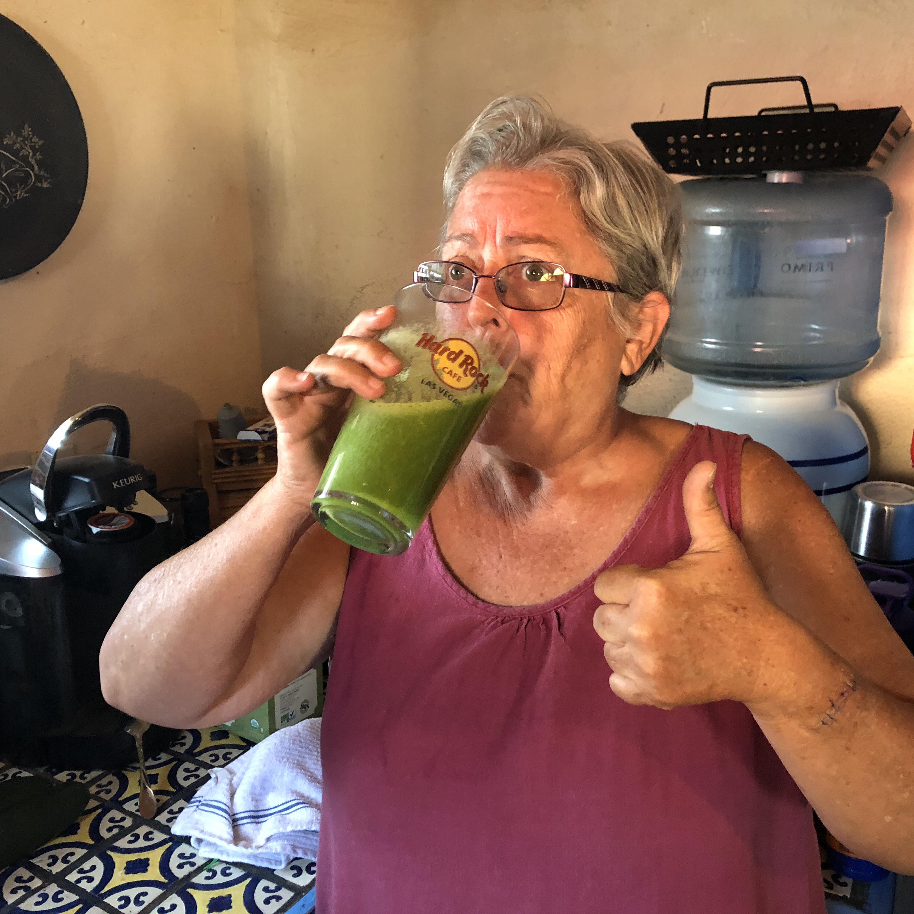 Celyne's Green Juice - Juicer Recipe Sue Anne S