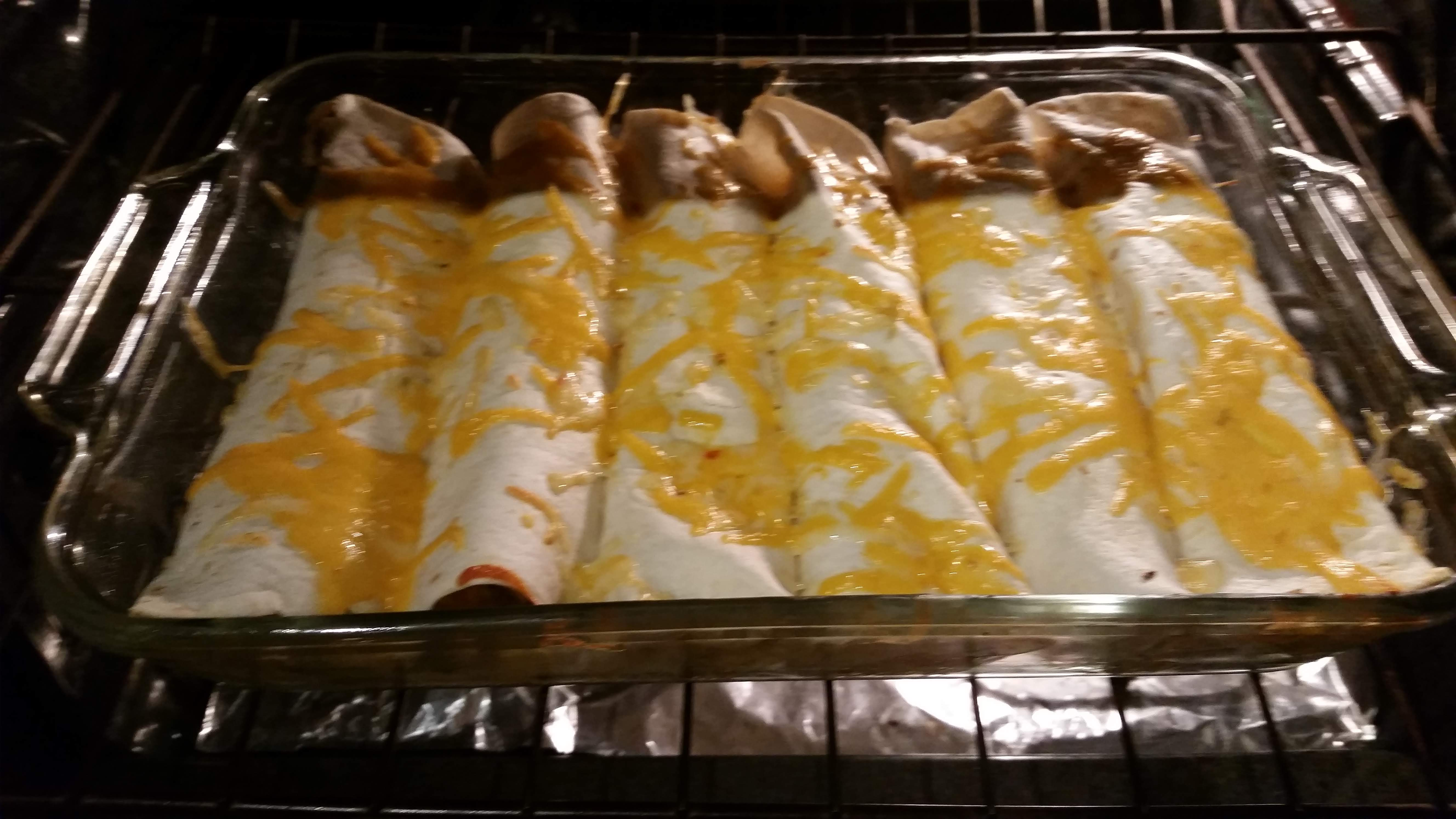 Baked Chipotle Chicken Flautas LRM