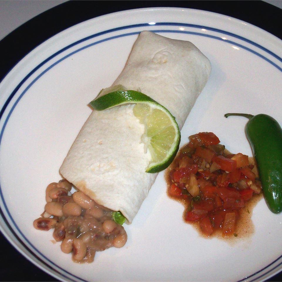Black-Eyed Peas and Tortillas heatherfeather