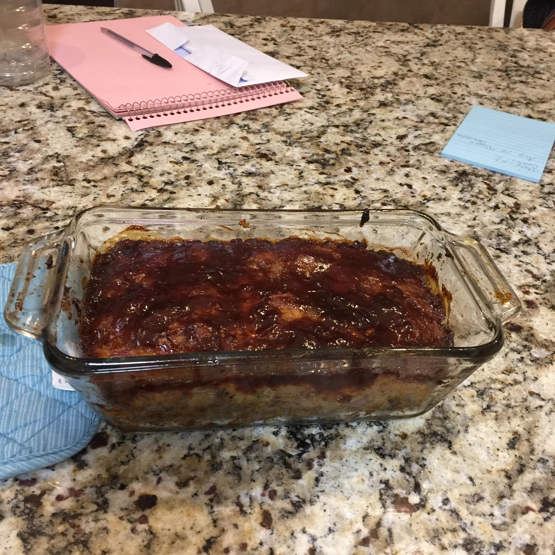 Pulled Pork Meatloaf