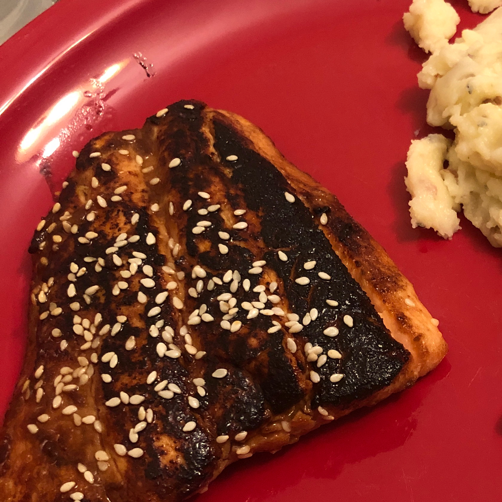Sesame Grilled Salmon Julie Tront