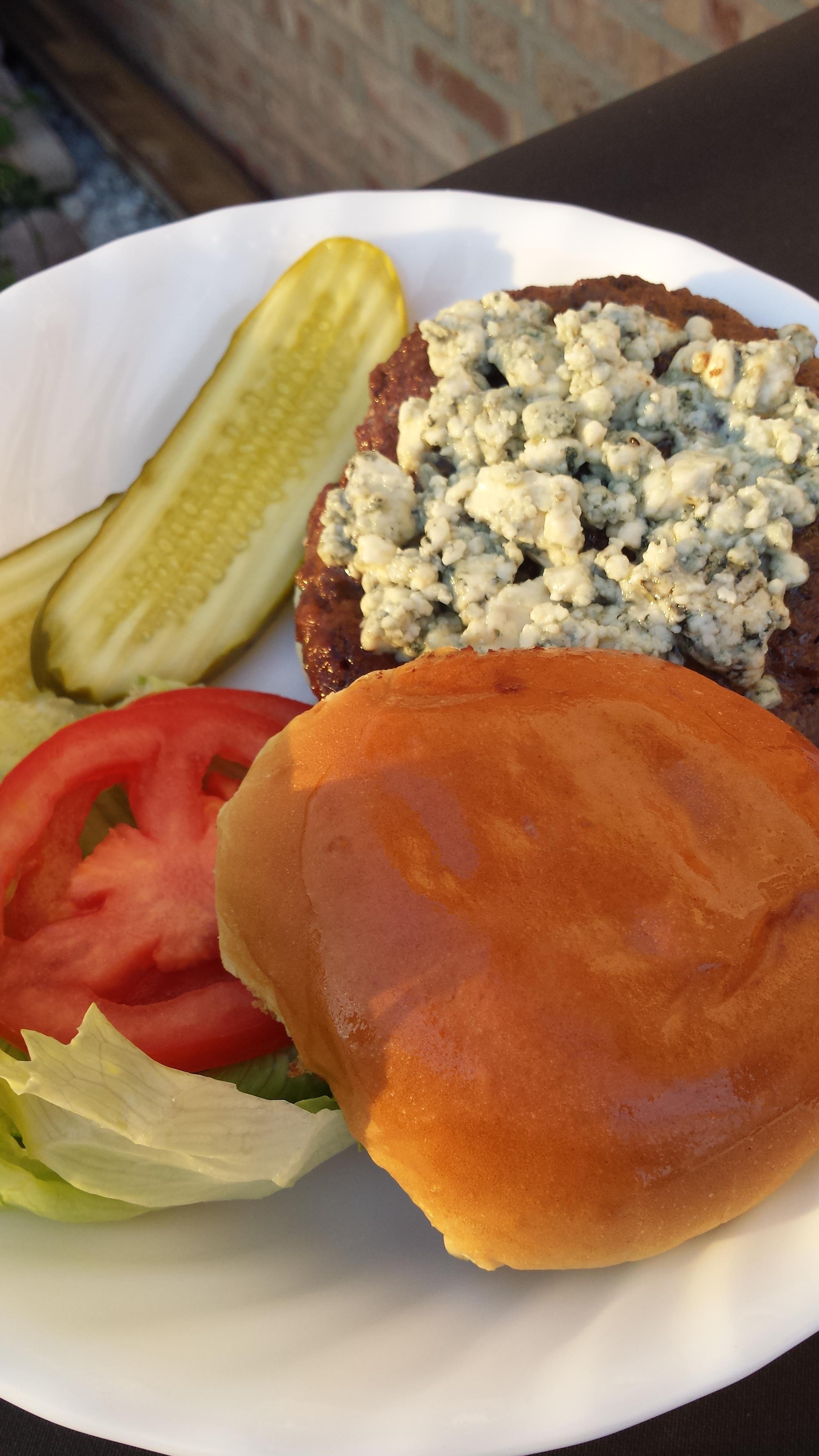 Zesty Black & Blue Burger Liz Dalton 'Lizzie'