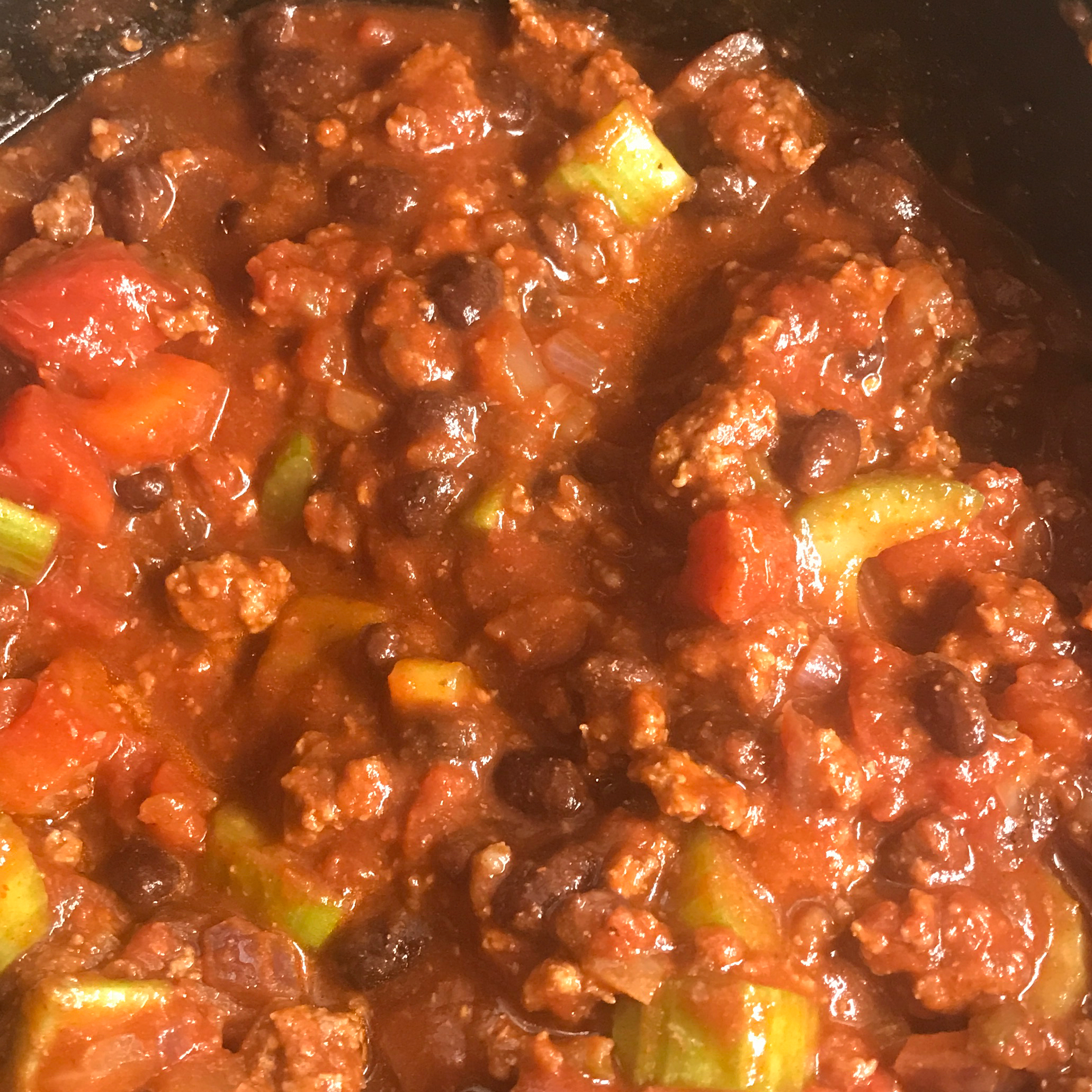 Low-Carb Slow Cooker Chili