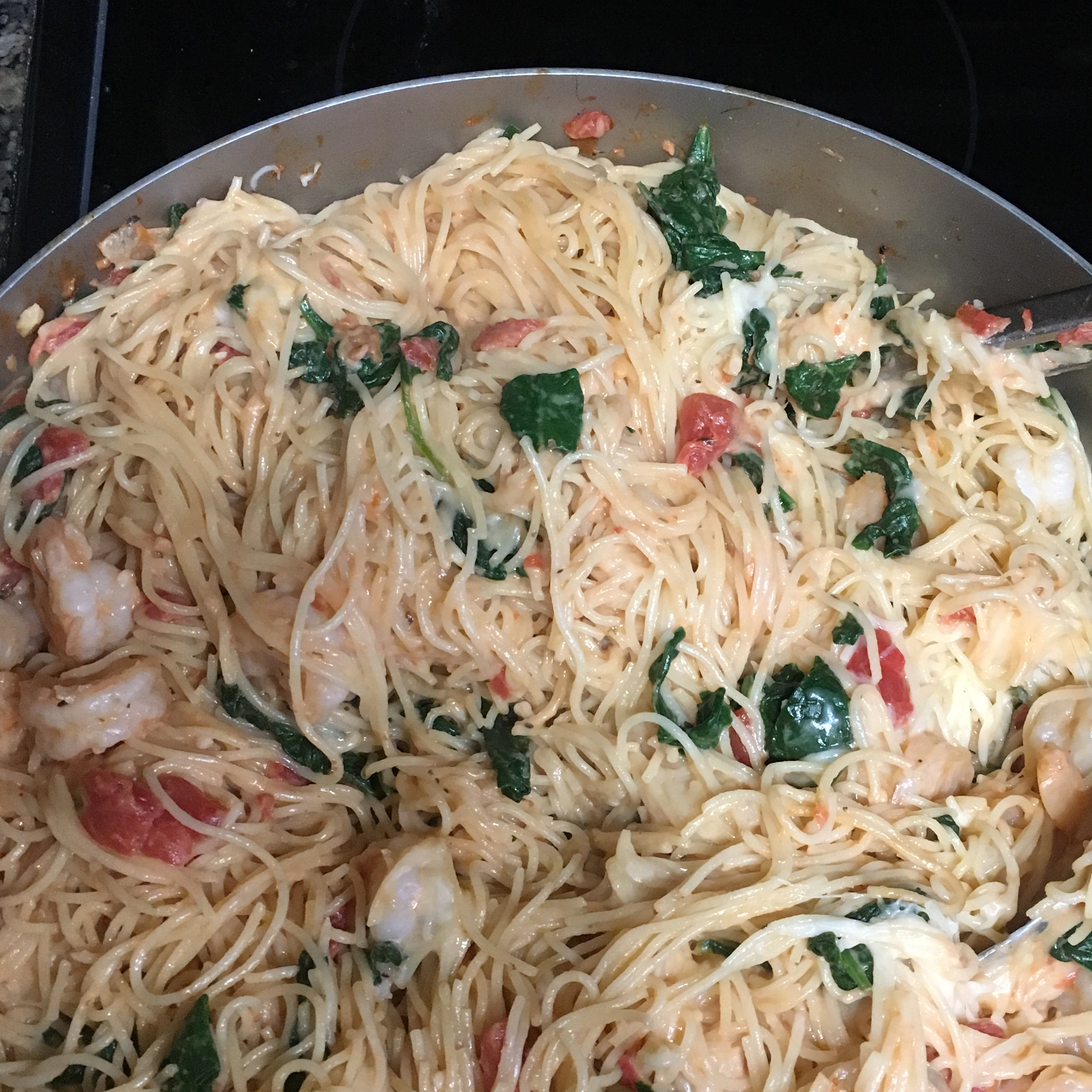 Shrimp and Pasta Formaggio Catherine Jenkins