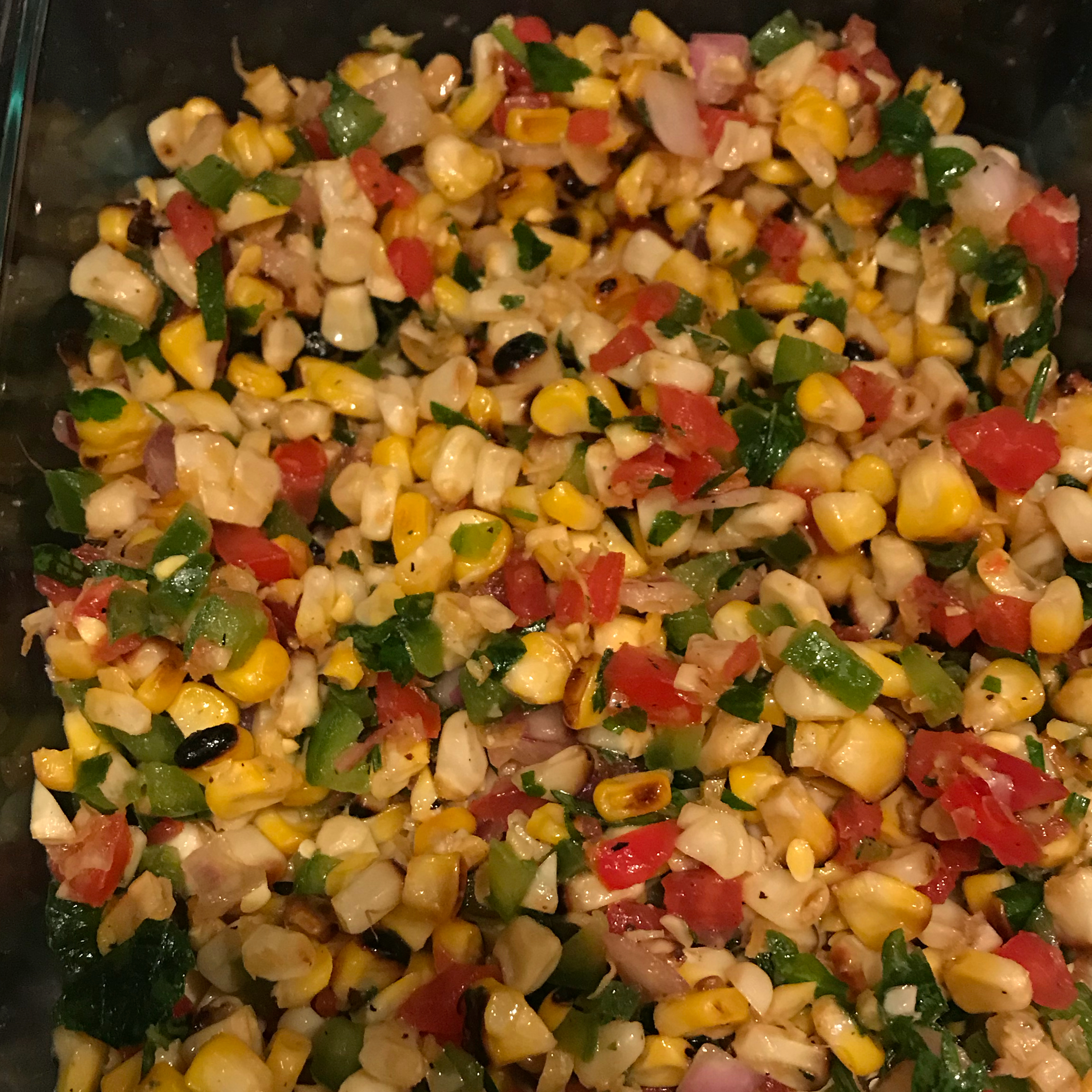 Grilled Corn Salad Maria Koster