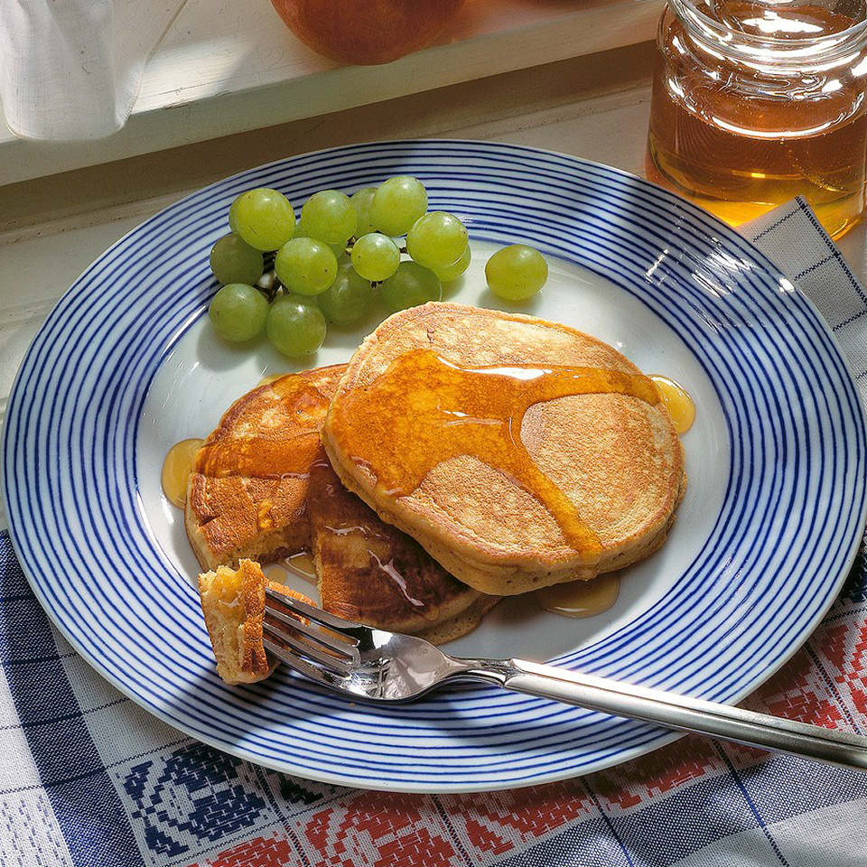 Honey-Apple Pancakes Diabetic Living Magazine