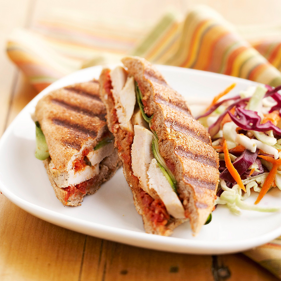 Another time, use the subtly seasoned Dried Tomato-Pepper Spread to spiff up a cold turkey sandwich. Source: Diabetic Living Magazine