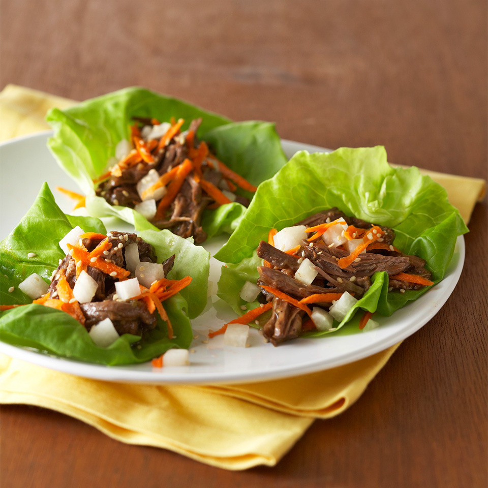 Asian Lettuce Wraps Diabetic Living Magazine