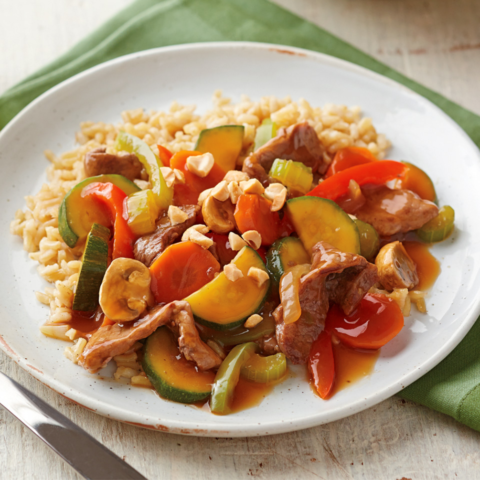 Beef and Vegetable Stir-Fry Trusted Brands