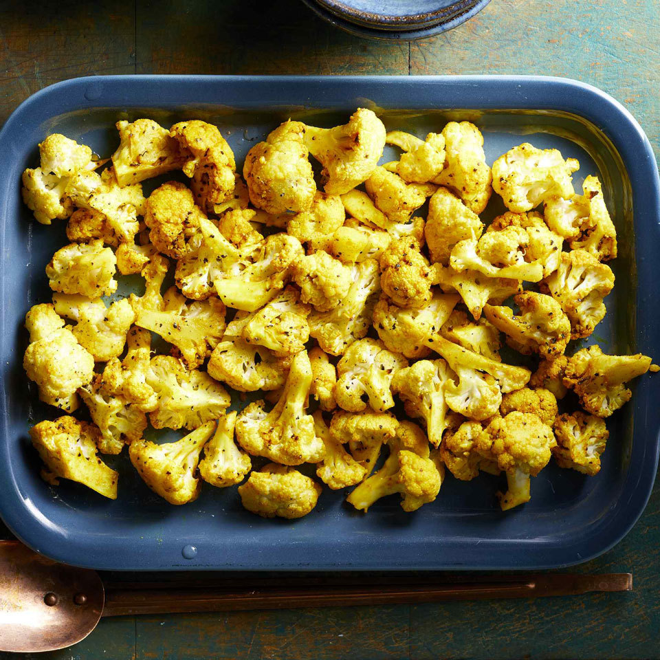 Turmeric-Roasted Cauliflower Trusted Brands