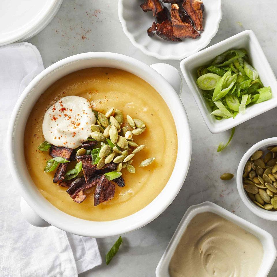 Vegan Potato Soup Hilary Meyer