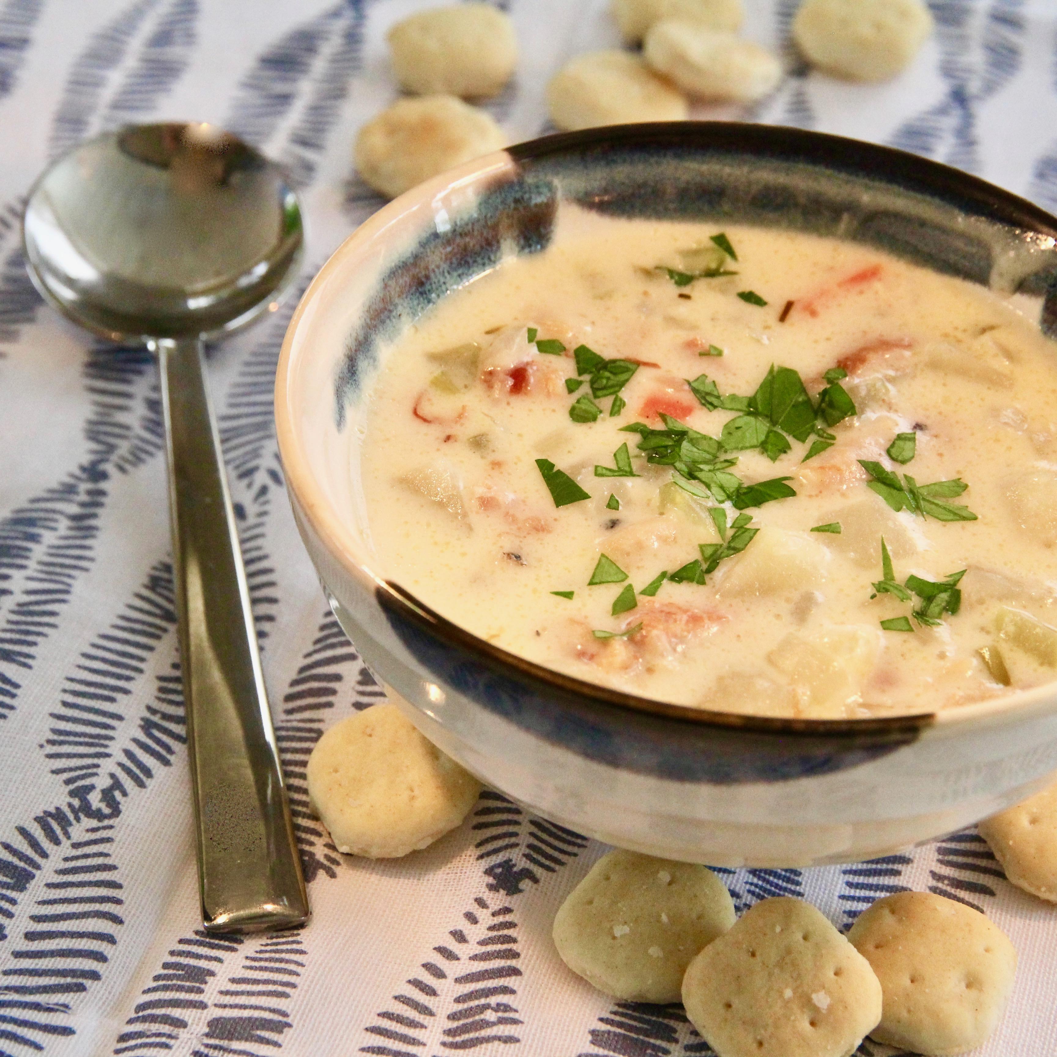 Lisa's Creamy Clam Chowder