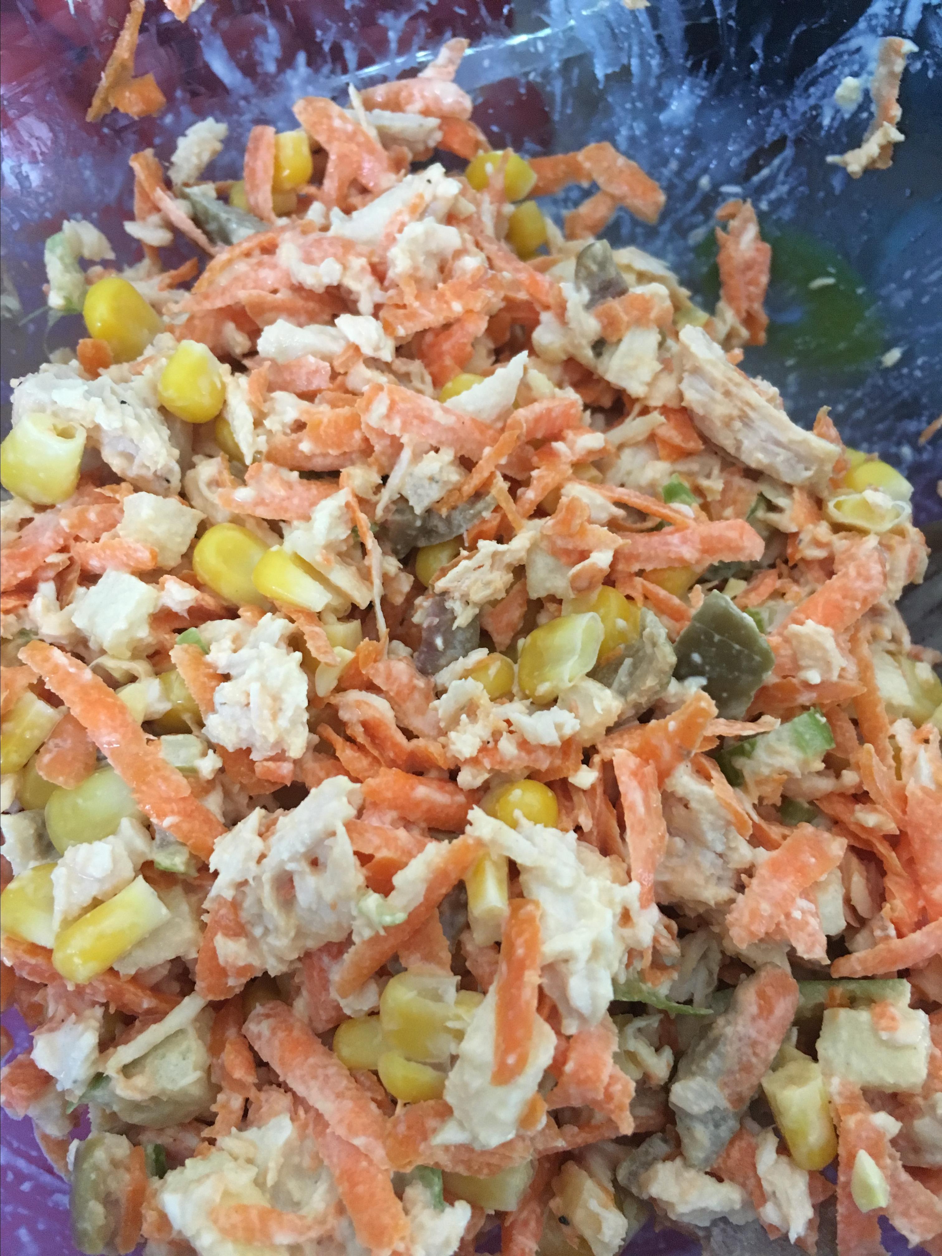 Brazilian Chicken Salad (Salpicao de Frango) barbara