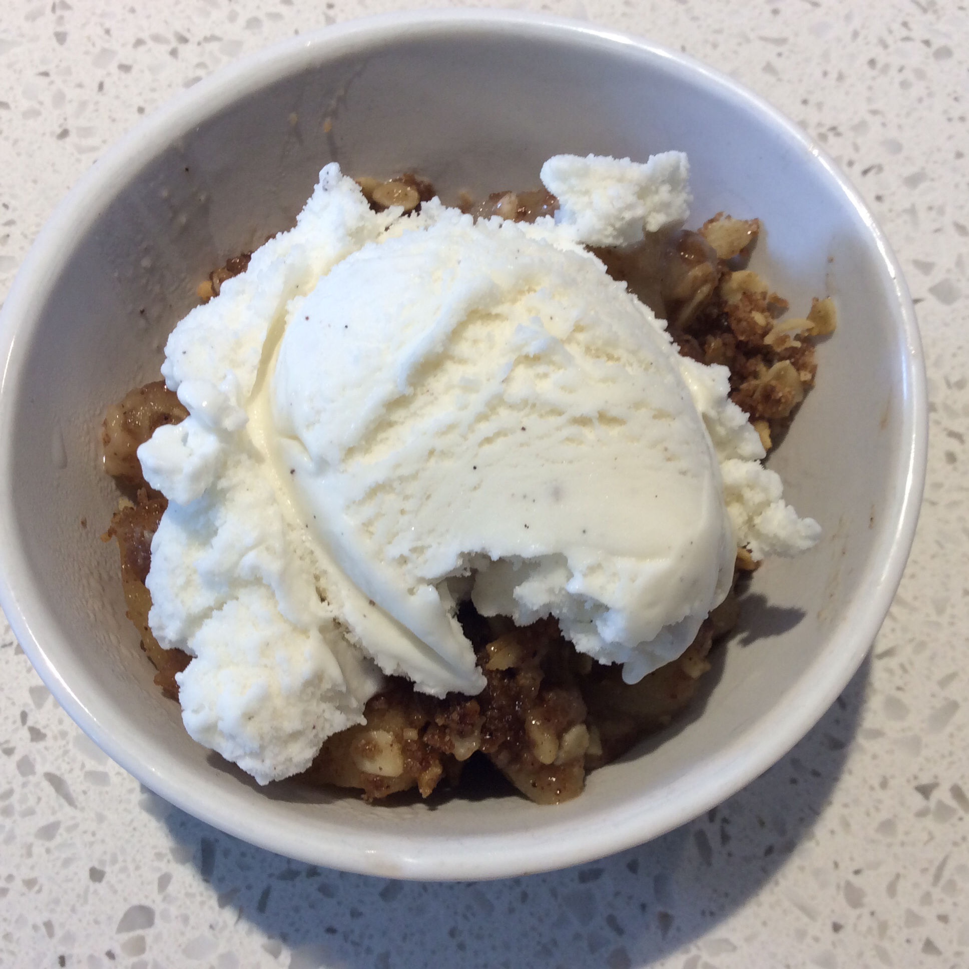 Nana's Apple Crisp Ellie Derrick