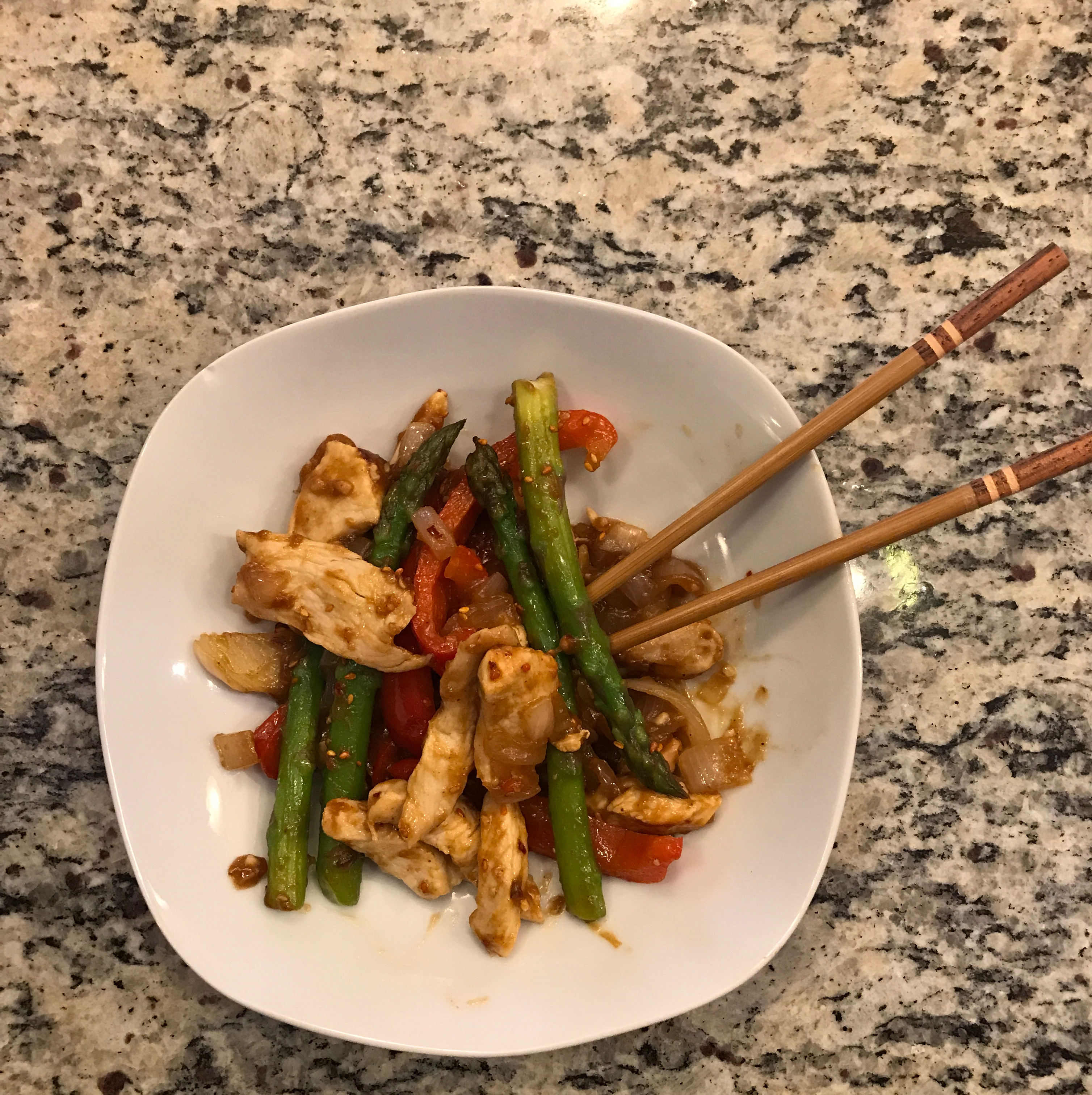 Stir-Fry Chicken and Vegetable Delight Ashley Falonk Petch