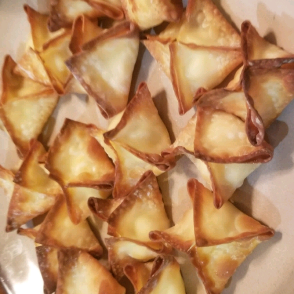 Baked Cream Cheese Wontons Chris Jungwirth