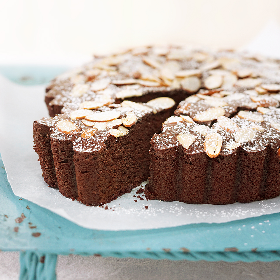 Chocolate-Almond Torte Diabetic Living Magazine