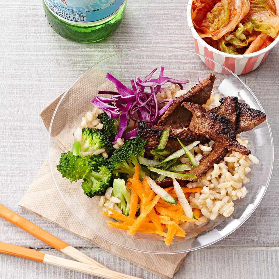 Bulgogi Beef and Vegetable Bowls Trusted Brands