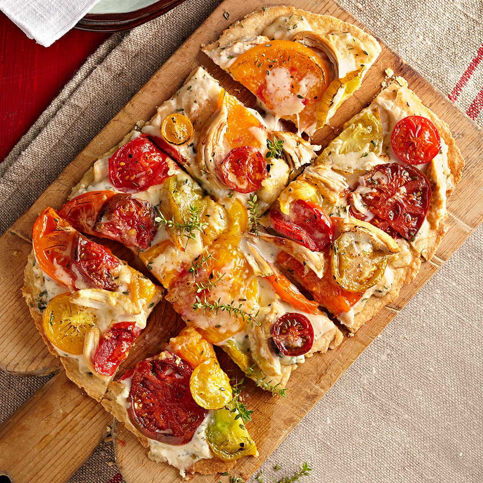 Country-Style Tomato Tart Diabetic Living Magazine