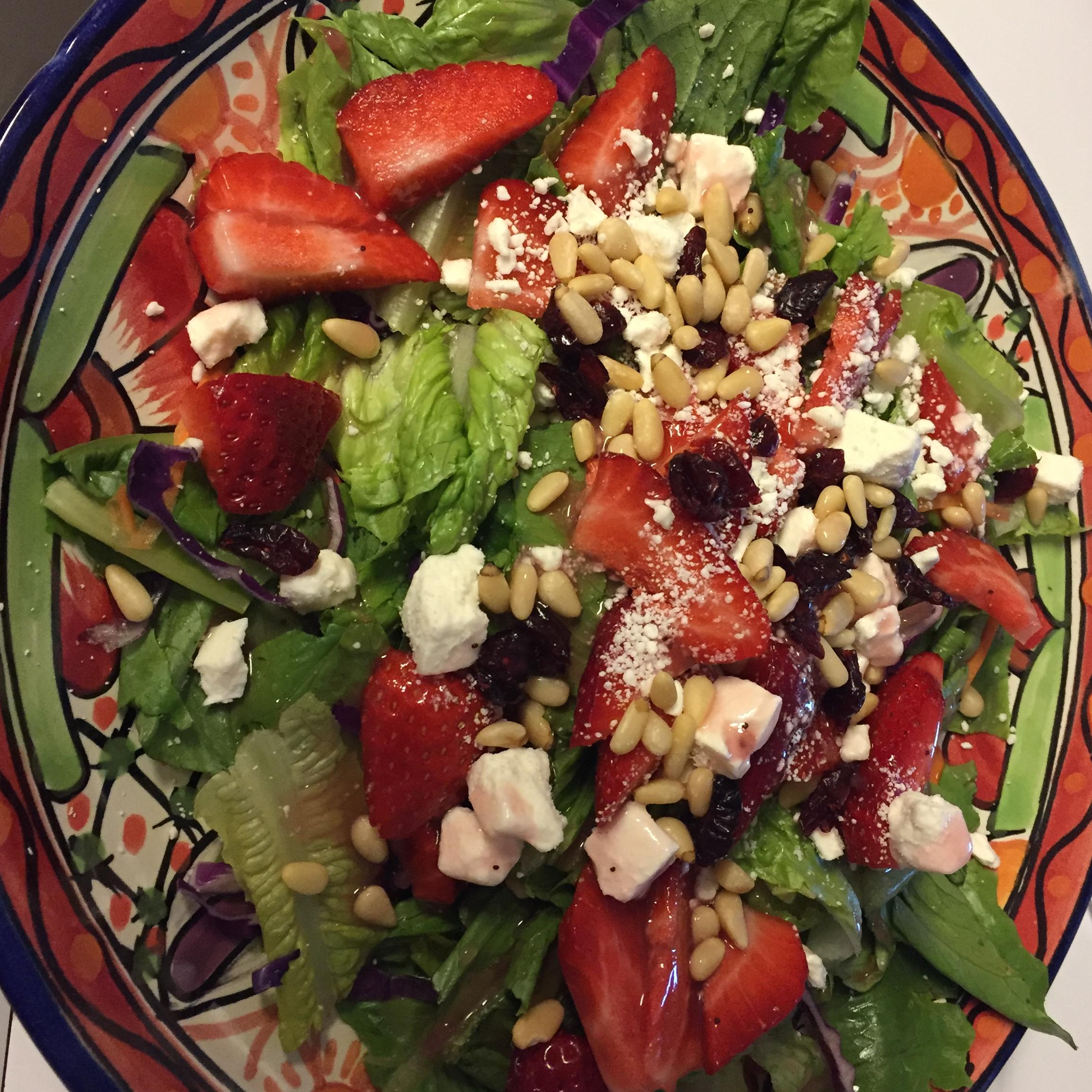 Strawberry and Feta Salad II