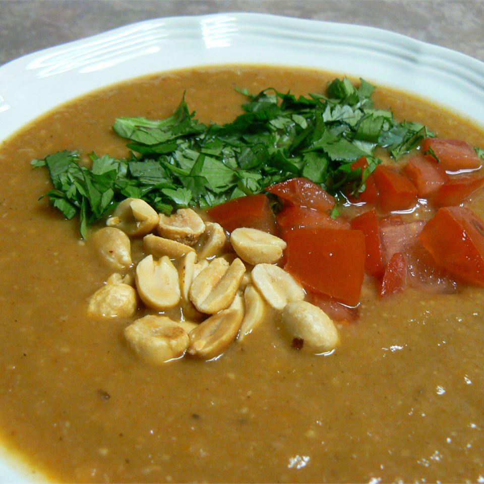 African Sweet Potato and Peanut Soup GregMcE