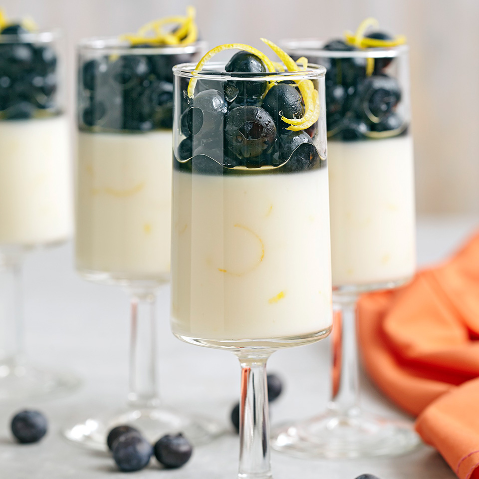Lemon Honey Parfaits with Blueberries Allrecipes Trusted Brands