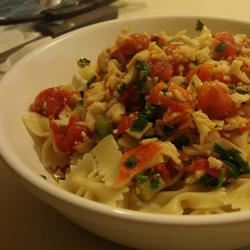Spicy Crab Pasta