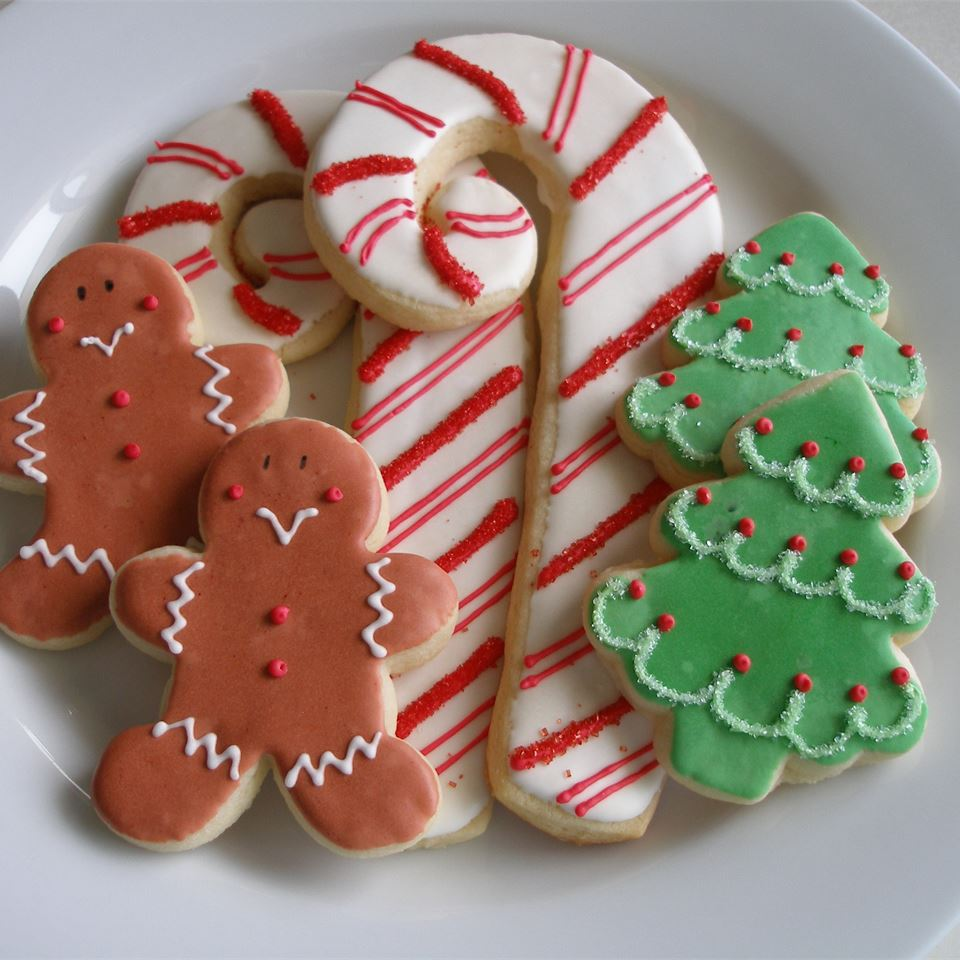Soft Christmas Cookies Georgie Bowers