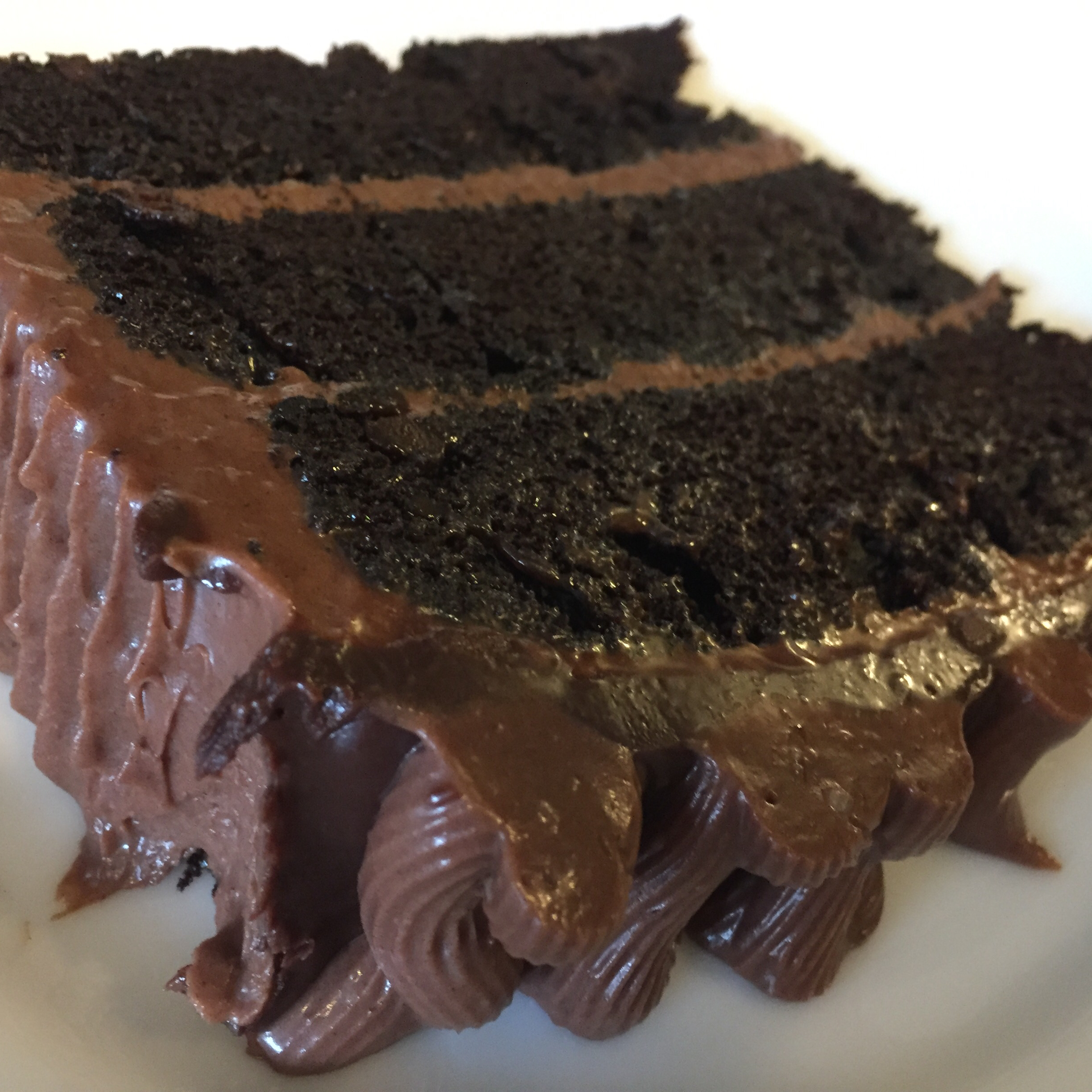 Moist Chocolate Layer Cake Eri Hoshina