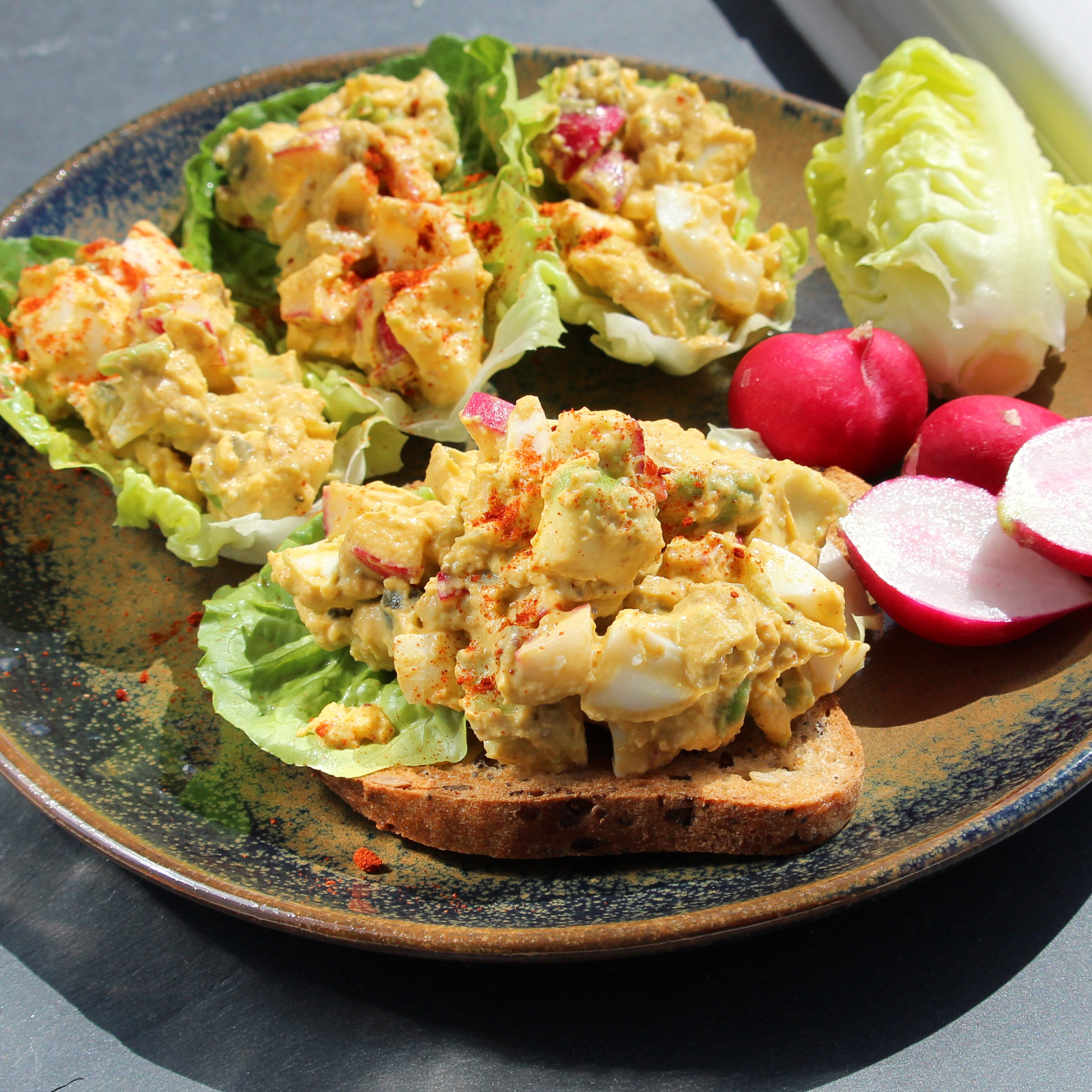 Harissa Egg Salad