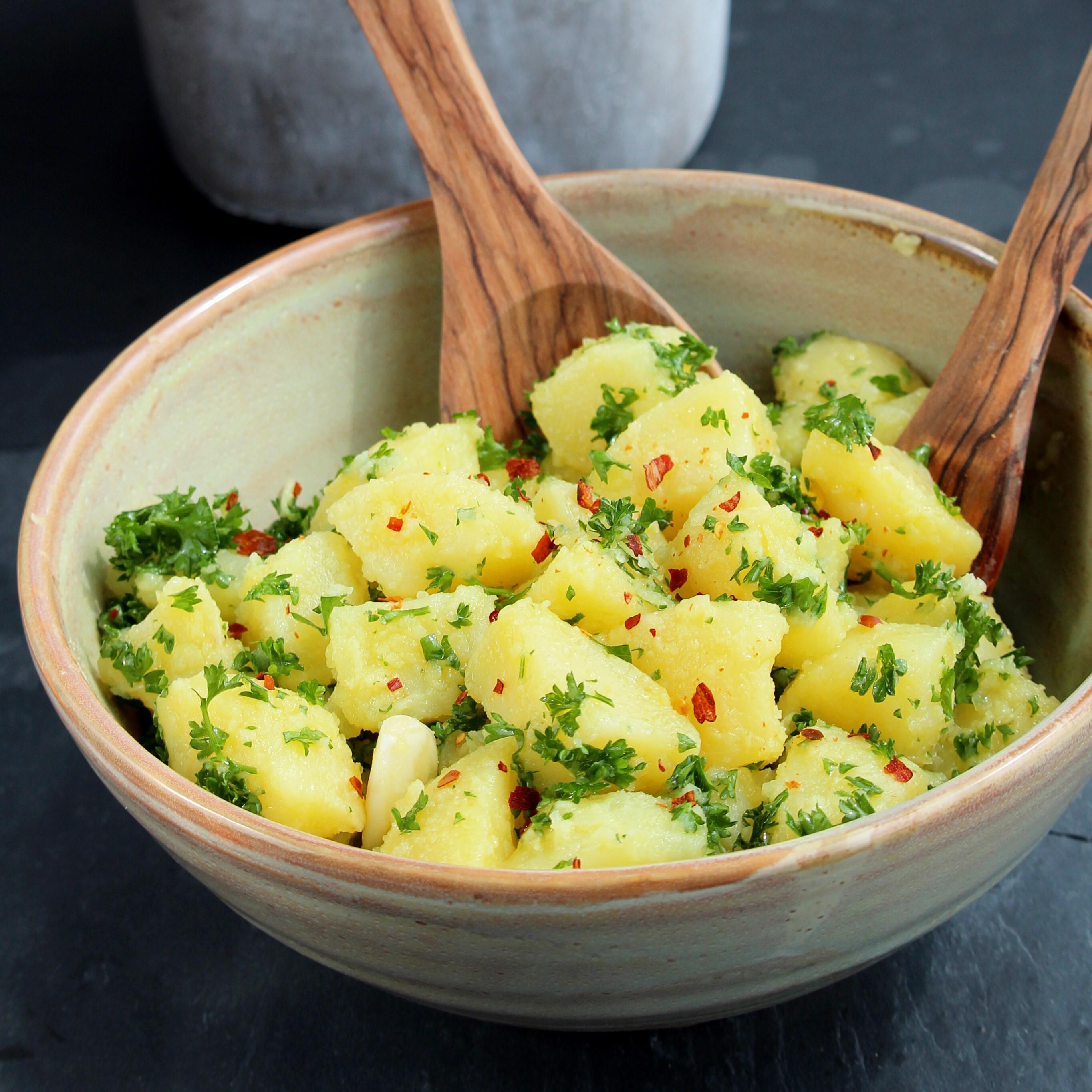 Patate Prezzemolate (Vegan Italian Potato Salad)