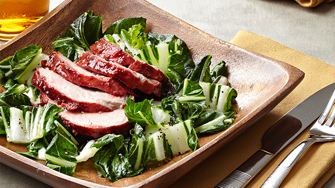 Chinese Barbecue Pork with Bok Choy Trusted Brands